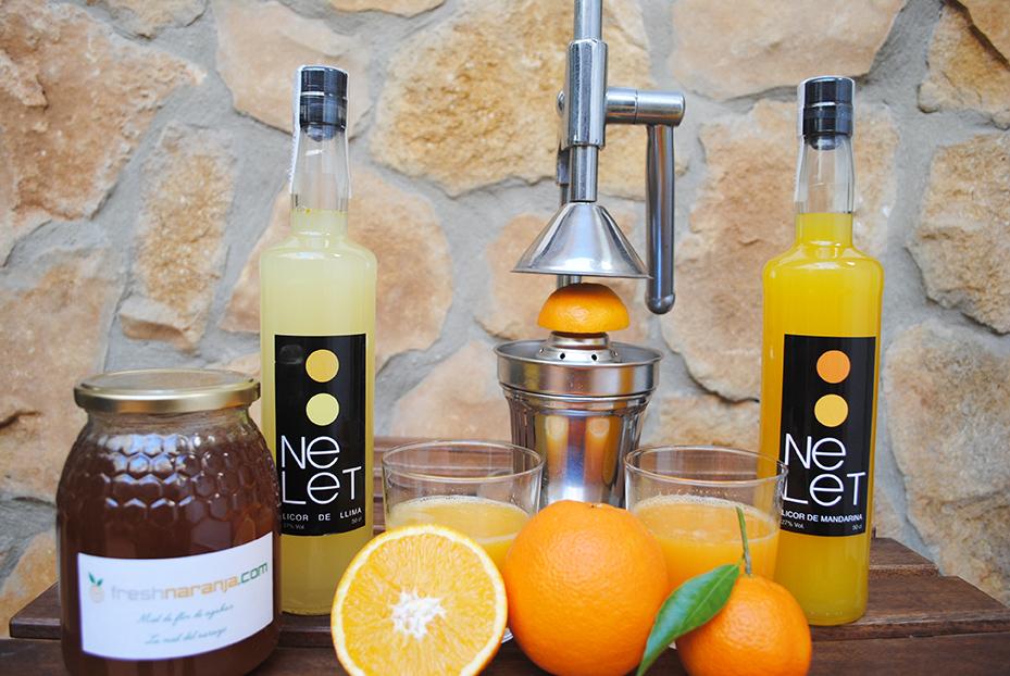 Naranjas para zumo y naranjas de mesa