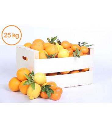 Naranjas de Zumo y Mandarinas (25 kilos)